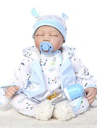 cheap -NPKCOLLECTION Reborn Doll Baby Boy 24 inch Silicone - lifelike Kid's Boys' Gift