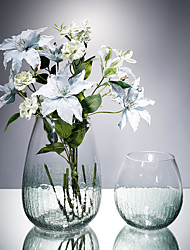 Недорогие -Искусственные Цветы 0 Филиал Классический Модерн / европейский Ваза Букеты на стол