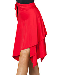 cheap -Latin Dance Bottoms Women's Training Spandex Bandage Dropped Skirts