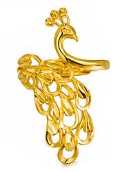 Недорогие -Жен. Скульптура Заявление - Позолота Дамы, Мода Бижутерия Золотой Назначение Для вечеринок Подарок Регулируется