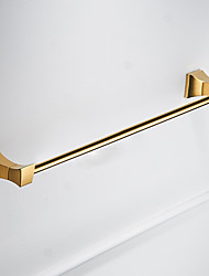 cheap -Towel Bar New Design Modern Brass 1pc - Bathroom Wall Mounted