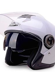 abordables -YEMA 625 Casque Bol Adultes Unisexe Casque de moto Antichoc / Anti UV / Coupe-vent