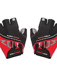 abordables -ZOLI Demi-doigt Unisexe Gants de moto Coton Séchage rapide / Respirable / Antiusure