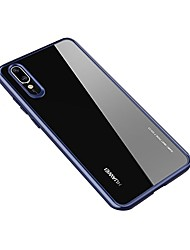 baratos -Capinha Para Huawei P20 / P20 Pro Transparente Capa traseira Sólido Rígida Acrílico para Huawei P20 / Huawei P20 Pro / Huawei P20 lite