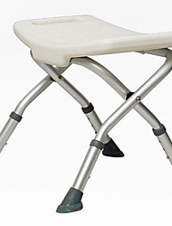 abordables -Chaise de bain Design nouveau / Position sur plancher / Pliable Ordinaire / Basique / Moderne / Contemporain Métallique / Le gel de silice 1pc Salle de bain