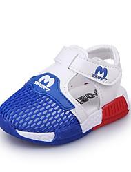 Недорогие -Мальчики Обувь Тюль Лето Обувь для малышей Сандалии Беговая обувь С отверстиями для Дети Черный / Синий / Светло-Розовый