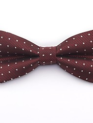 cheap -Men's Cotton / Polyester Bow Tie - Color Block / Houndstooth