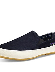 cheap -Men's Canvas Summer Comfort Loafers & Slip-Ons Red / Green / Blue