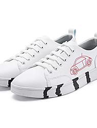 cheap -Men's PU(Polyurethane) Summer Comfort Sneakers Red / Green / Blue