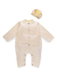 お買い得  -赤ちゃん 女の子 ソリッド 長袖 オーバーオール&ジャンプスーツ