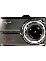 Недорогие -Anytek G66 1080p Ночное видение / Двойной объектив Автомобильный видеорегистратор 170° Широкий угол 3.5 дюймовый IPS Капюшон с Ночное