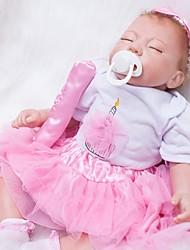 Недорогие -OtardDolls Куклы реборн Кукла для девочек Девочки 20 дюймовый Силикон - Новорожденный как живой Экологичные Подарок Ручная работа Безопасно для детей Детские Девочки Игрушки Подарок / Non Toxic
