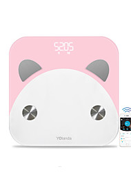 cheap -Yolanda CS20K 12 in 1 Health Coaching Program Smart BIA Technology Body Fat Scale  Composition Monitor Bluetooth 4.0 Health Management Bathroom Scale