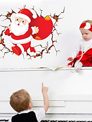 abordables -Calcomanías Decorativas de Pared - Holiday pegatinas de pared Navidad Sala de estar / Dormitorio / Baño