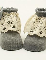 Недорогие -Дети (1-4 лет) Девочки Однотонный Белье / носки