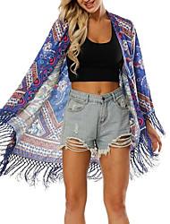 cheap -women's beach shirt - geometric stand