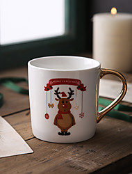 cheap -Drinkware Porcelain / China Mug Cartoon / Cute 1pcs