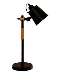 お買い得  -コンテンポラリー 装飾用 テーブルランプ 用途 リビングルーム / 廊下 メタル 220-240V ホワイト / ブラック