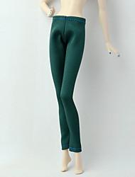 abordables -Pantalones Pantalones, Pantalonetas y Licras por Muñeca Barbie  Verde Ejército Satén Elástico / Mezcla de Poliéster y Algodón Pantalones por Chica de muñeca de juguete