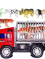 Недорогие -Игрушечные машинки Автомобиль Животные Детские Подарок 5 pcs