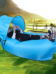 baratos -Sofá Inflável / Saco de dormir Ao ar livre Portátil / Prova-de-Água / Compacto Náilon 240*70*50 cm Praia / Campismo / Viajar Todas as Estações