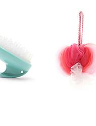 abordables -Herramientas / Cepillo de Baño Nuevo diseño / Portátil / Fácil de Usar Moderno Otros Materiales / PÁGINAS 1pc Esponjas y depuradores / accesorios de ducha