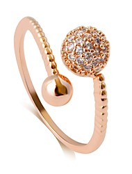 cheap -Women's Open Ring - Alloy Classic, Vintage, Fashion Adjustable Gold / Silver / Rose Gold For Party / Birthday