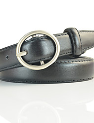 cheap -Women's Active / Street chic Skinny Belt - Solid Colored
