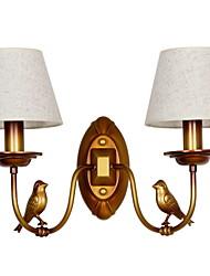 cheap -New Design Vintage Wall Lamps & Sconces Living Room / Hallway Metal Wall Light 220-240V
