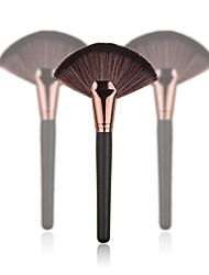 billige Rougebørster-1pc Makeup børster Profesjonell Rougebørste Nylon Børste Myk Plast