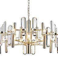 cheap -LWD 8-Light Candle-style Chandelier Ambient Light - Crystal, Creative, 110-120V / 220-240V Bulb Not Included / 15-20㎡