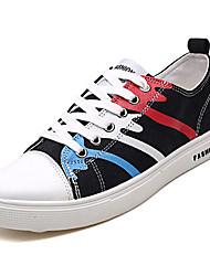 povoljno -Muškarci Cipele Platno Ljeto / Jesen Udobne cipele Sneakers Crn / Sive boje / Plava