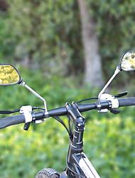Недорогие -Зеркало велосипеда Handlerbar Регулируется / Выдвижной Шоссейные велосипеды / Велоспорт стекло / ABS Черный - 2 pcs