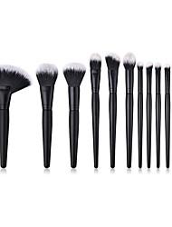 cheap -13pcs Makeup Brushes Professional Makeup Brush Set / Blush Brush / Eyeshadow Brush Nylon fiber Soft / Full Coverage Wooden / Bamboo