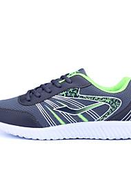 Недорогие -Муж. обувь Тюль Лето Удобная обувь Спортивная обувь Беговая обувь Черный / Темно-серый / Светло-серый