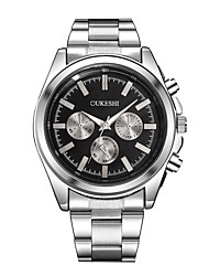 cheap -Xu™ Men's Dress Watch / Wrist Watch Chinese Casual Watch / Large Dial Alloy Band Fashion / Minimalist Silver