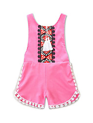 cheap -Baby Girls' Geometric / Jacquard Sleeveless Romper