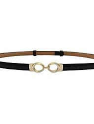 abordables -Mujer Cinturón de Cintura - Chic de Calle Un Color