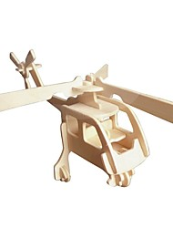 cheap -Wooden Puzzle / Logic & Puzzle Toy Airplane School / New Design / Professional Level Wooden 1 pcs Kid's / Teen All Gift