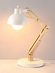 cheap -Modern / Contemporary New Design / Creative Desk Lamp For Bedroom / Study Room / Office Wood / Bamboo 220V
