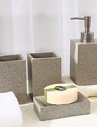 Недорогие -Набор аксессуаров для ванной Новый дизайн / Многофункциональный Современный Пластик 4шт - Ванная комната Односпальный комплект (Ш 150 x Д