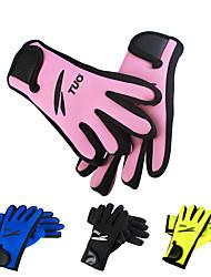 Недорогие -Дайвинг Перчатки 2mm неопрен Полный палец Стреч, Защитный Дайвинг / Для погружения с трубкой