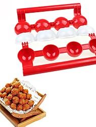 baratos -Utensílios de cozinha PP (Polipropileno) Criativo Bola / Mold DIY / Ferramentas de Carne e Aves para Meat / para peixe / Bolas de arroz 1pç