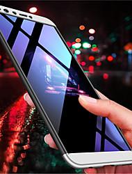 Недорогие -Кейс для Назначение Huawei Y9 (2018)(Enjoy 8 Plus) / Y7 Prime (2018) Матовое Кейс на заднюю панель Однотонный Твердый ПК для Y9