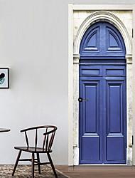 Недорогие -Декоративные наклейки на стены - 3D наклейки Абстракция / Натюрморт Гостиная / Спальня