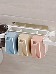 abordables -Taza Porta Cepillos de Dientes Múltiples Funciones Modern El plastico 1pc - Accesorios Decoración de baño