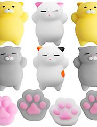 Недорогие -LT.Squishies Резиновые игрушки / Устройства для снятия стресса Кошка / Кошачий коготь Стресс и тревога помощи / Декомпрессионные игрушки