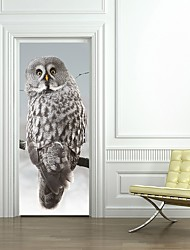cheap -Decorative Wall Stickers / Door Stickers - Holiday Wall Stickers Animals / 3D Living Room / Bedroom