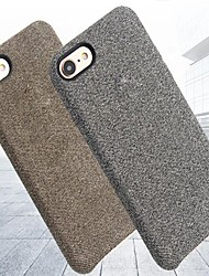 billige -Etui Til Apple iPhone X / iPhone 8 Ultratyndt Bagcover Ensfarvet Hårdt PU Læder for iPhone X / iPhone 8 Plus / iPhone 8