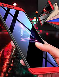 Недорогие -Кейс для Назначение Huawei Y9 (2018)(Enjoy 8 Plus) / Y7 Prime (2018) Защита от удара Чехол Однотонный Твердый ПК для Y9 (2018)(Enjoy 8 Plus) / Y7 Prime (2018)